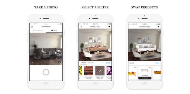 Hutch Augmented reality home apps