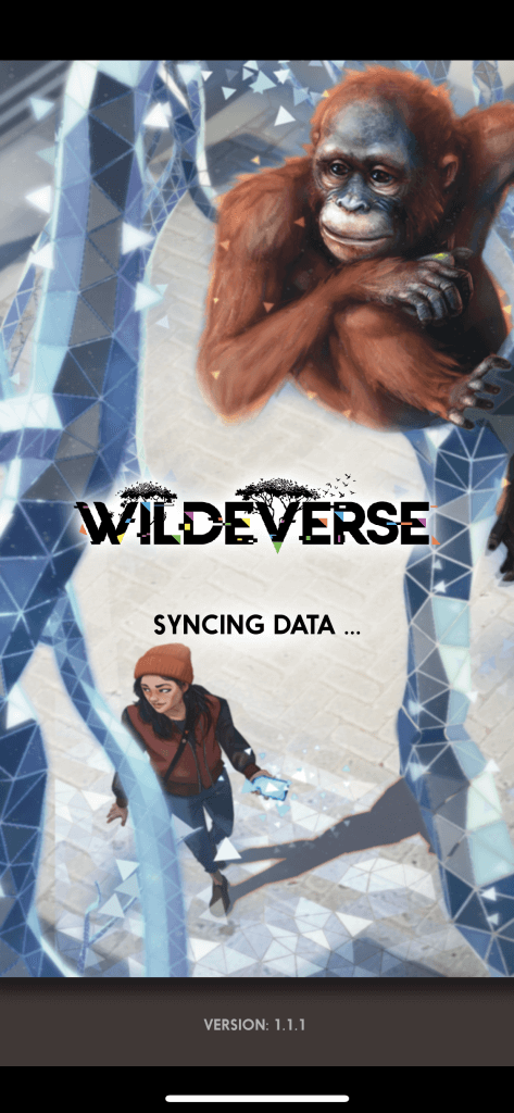 wildeverse game splash screen