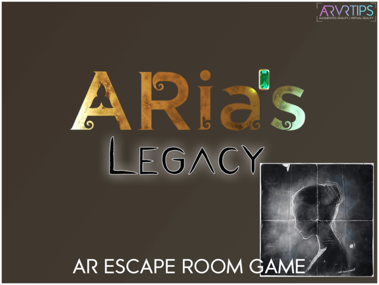 Free App Giveaway: ARia's Legacy – Augmented Reality Escape Room Game
