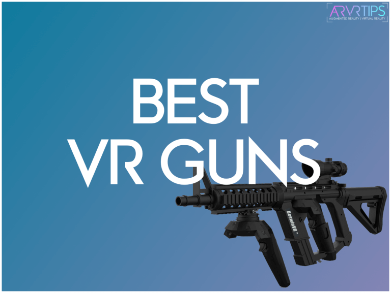 4 Best VR Gun Controllers for Oculus, HTC Vive & PS VR