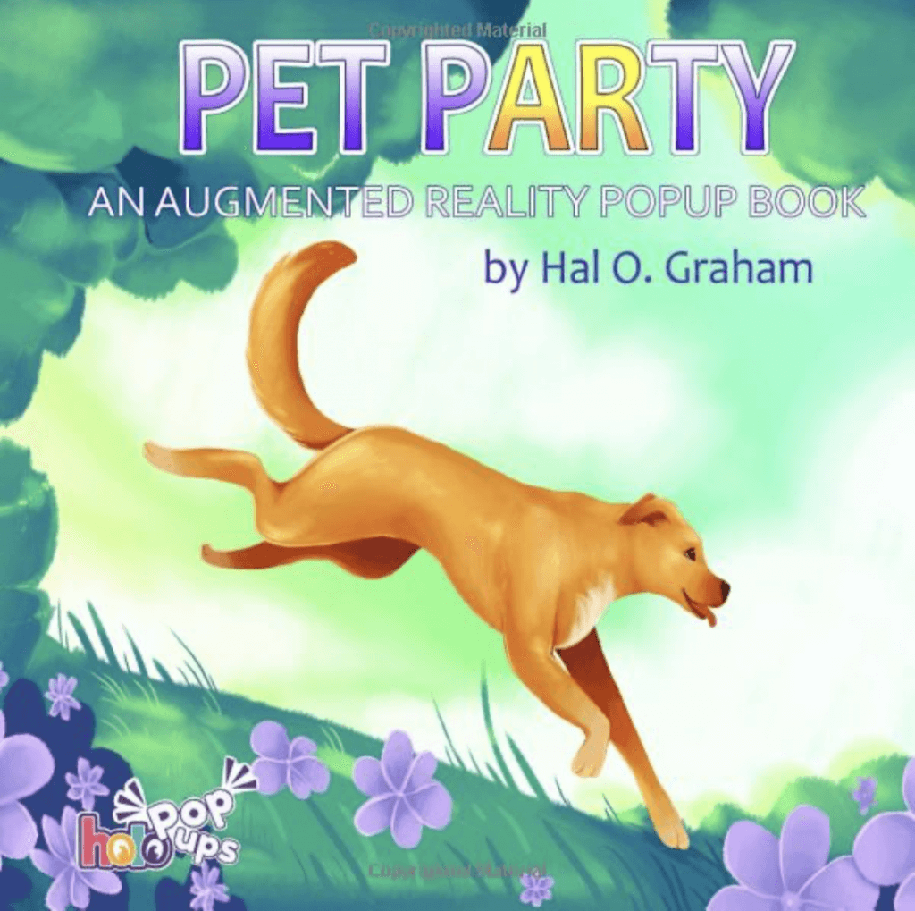 pet party ar book