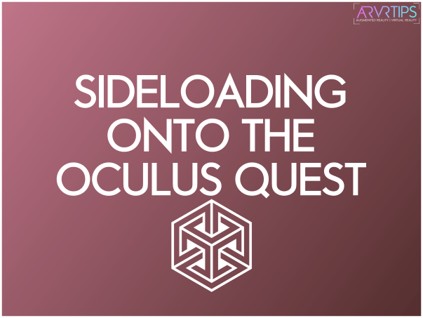 sideload onto the oculus quest