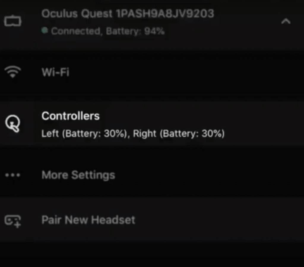 01 - connect bluetooth controller to oculus quest