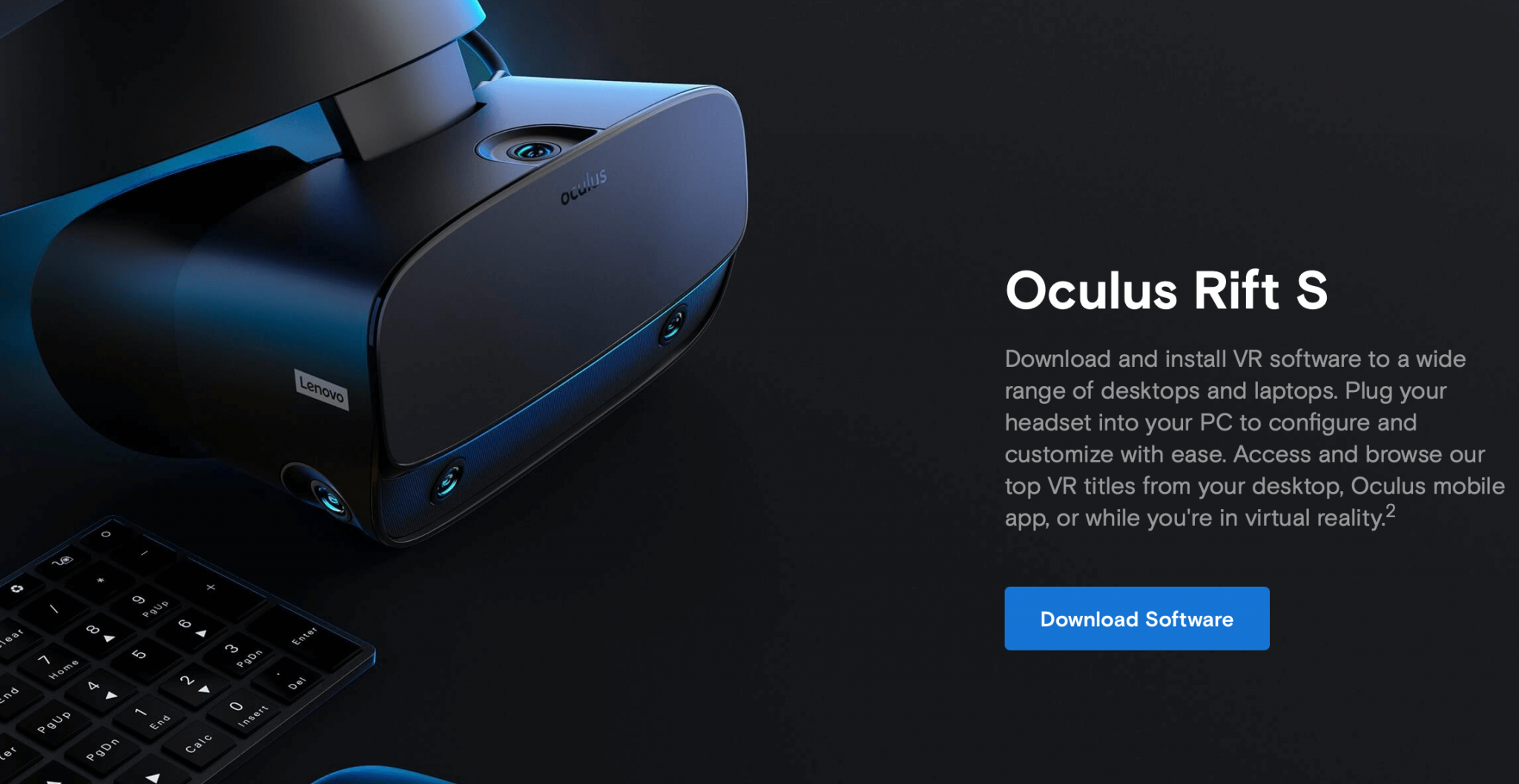 01 - download oculus software
