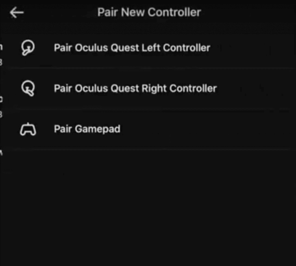 03 - connect bluetooth controller to oculus quest