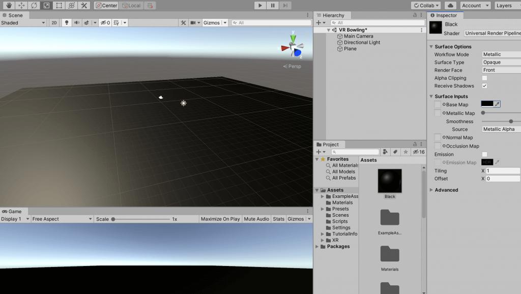 04 - unity camera tutorial - material color