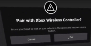 05 - connect bluetooth controller to oculus quest
