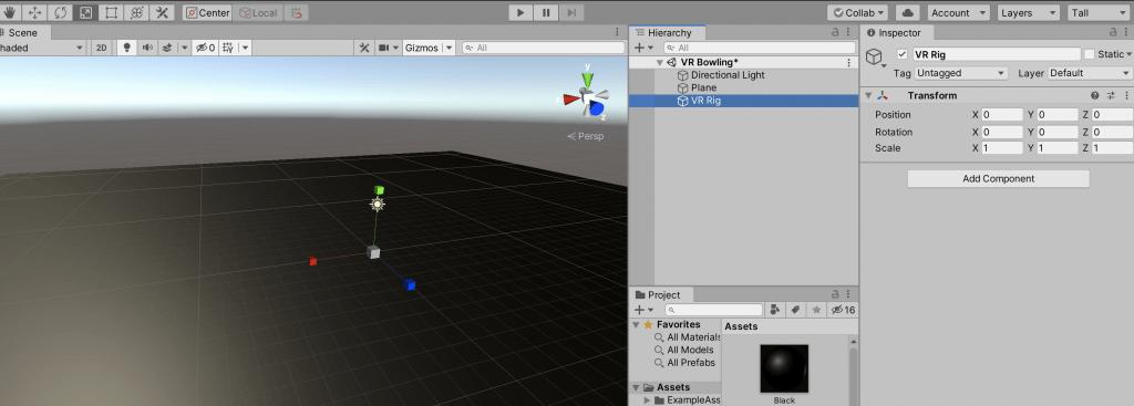 05 - unity camera tutorial - create VR camera