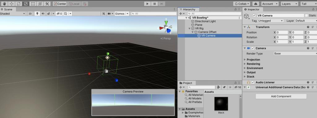 07 - unity camera tutorial - vr camera 2
