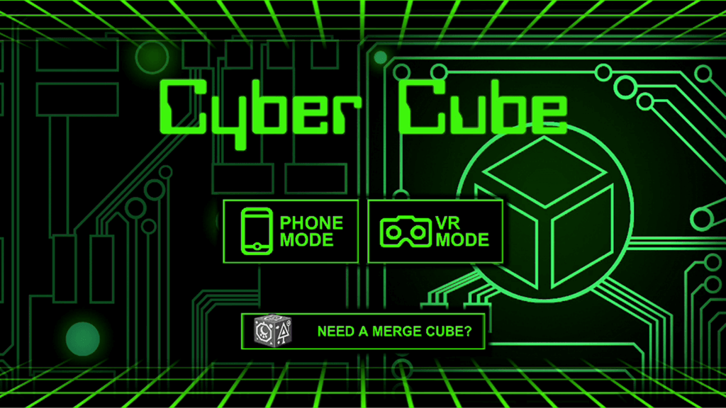 cyber cube merge cube apps