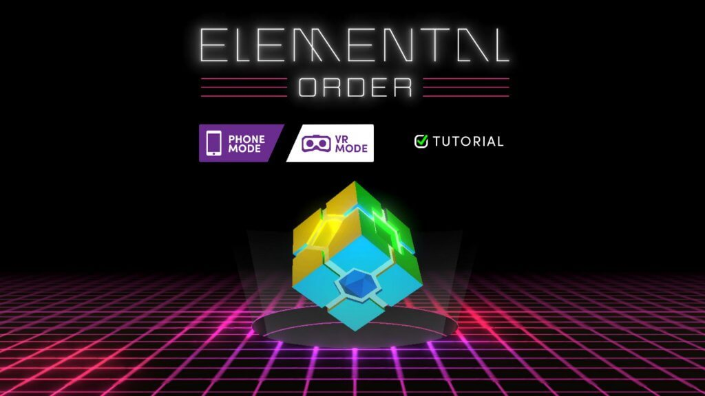elemental order merge cube app