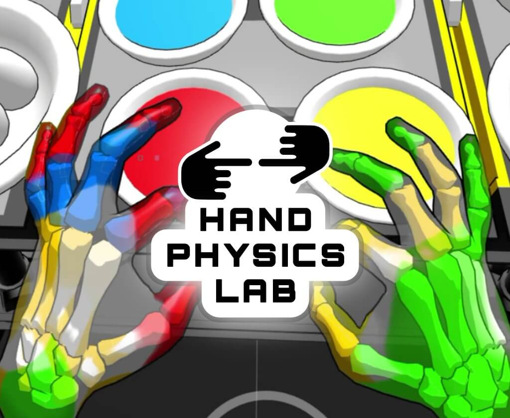 hand physics lab sidequest vr