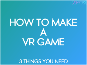 make a vr game