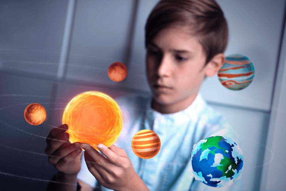 merge cube AR stem toy solar system