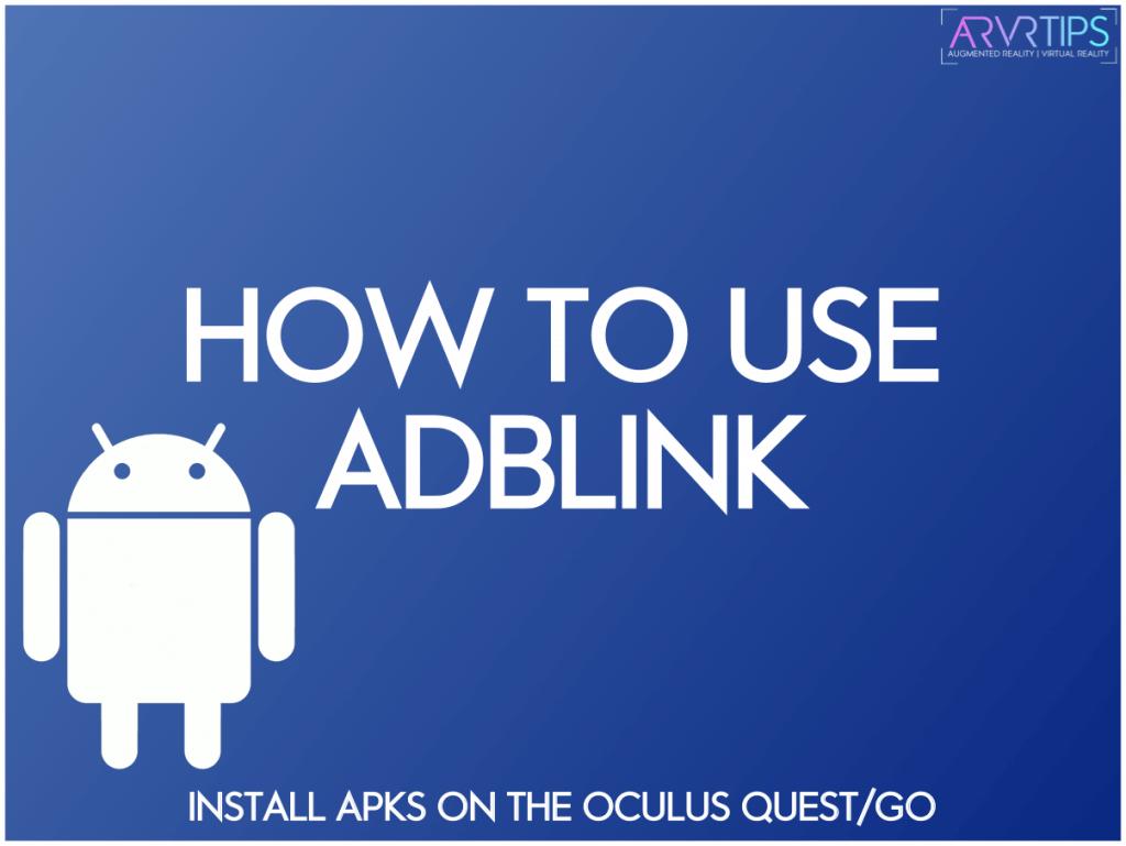 use adblink oculus quest 2