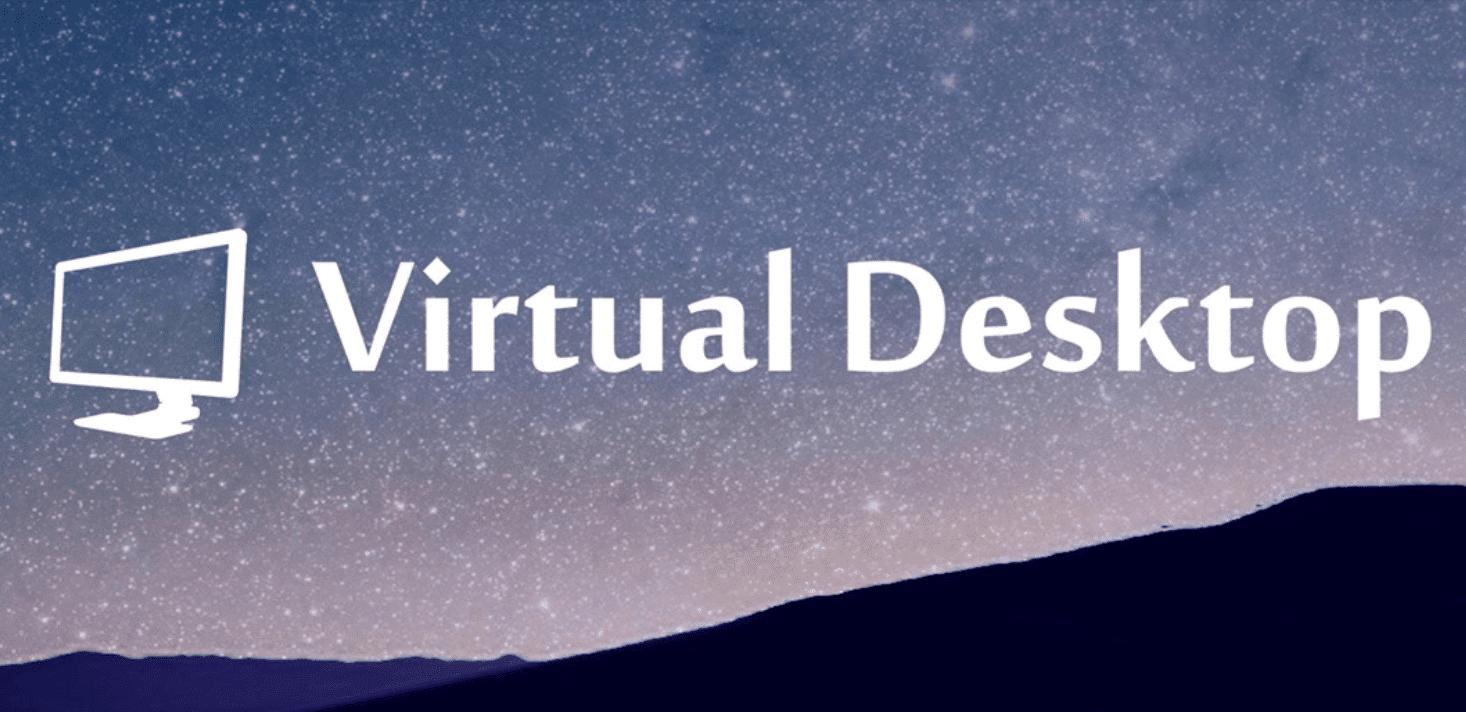 virtual desktop oculus quest