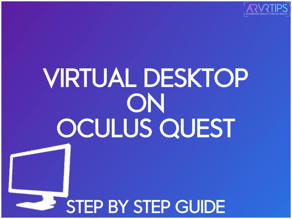 virtual desktop on oculus quest