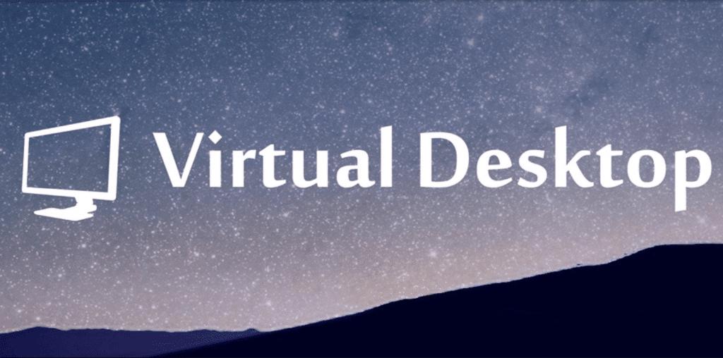 virtual desktop sidequest vr