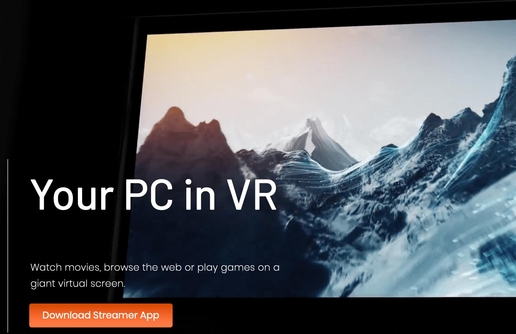 virtual desktop streamer app