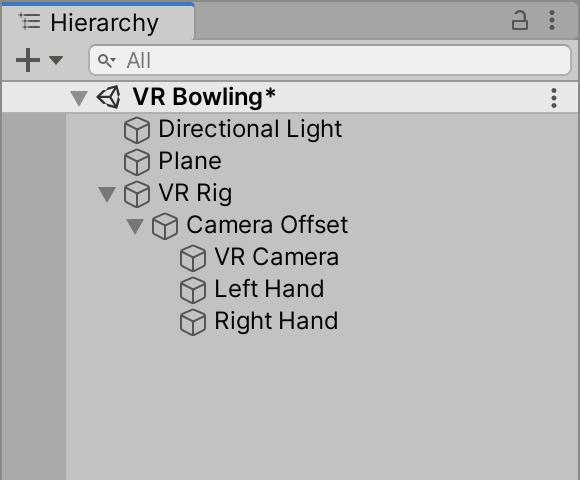 01 - unity vr create controllers