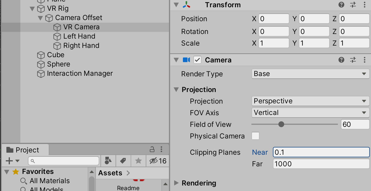 07 - adjust camera clipping plane