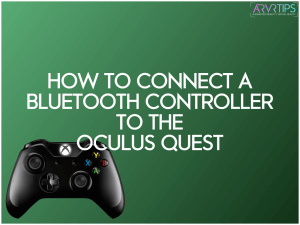 connect bluetooth controller to oculus quest