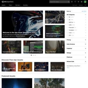 Unity Asset Store Image