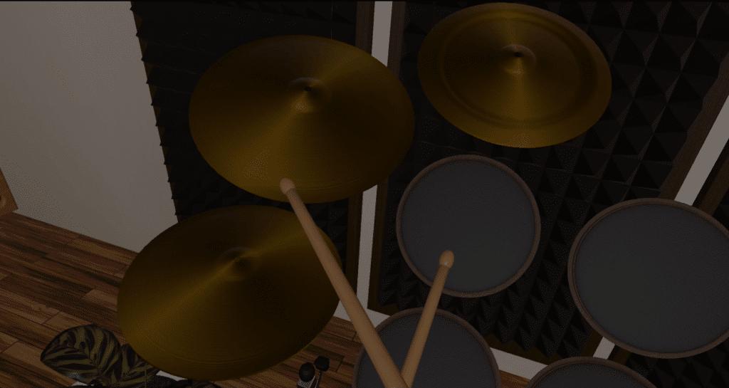 vr drum studio