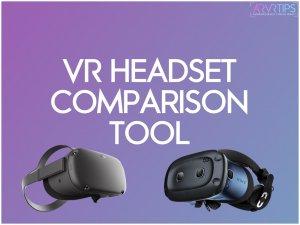 VR Headset Comparison Tool