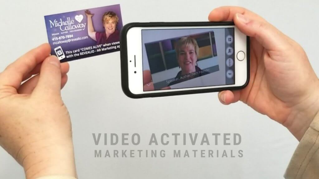 augmented reality business cards example 1
