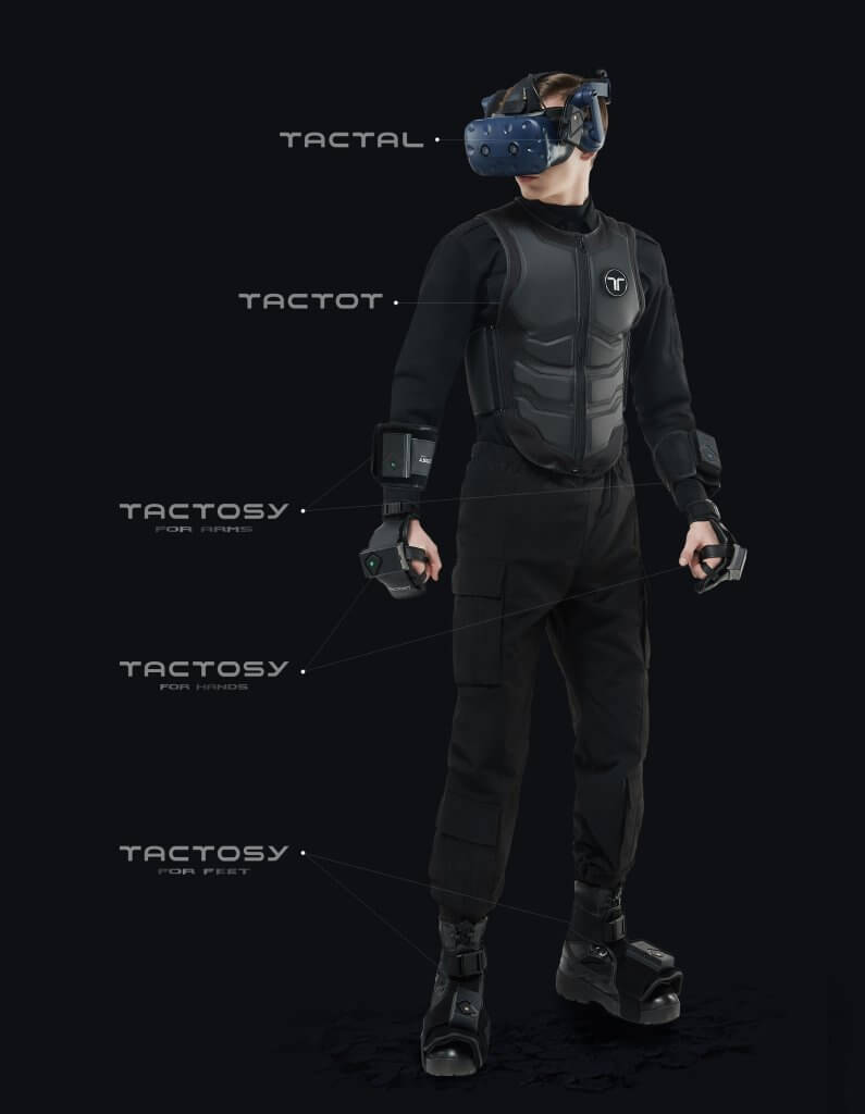 bhaptics tactsuit full body tracking vr suit