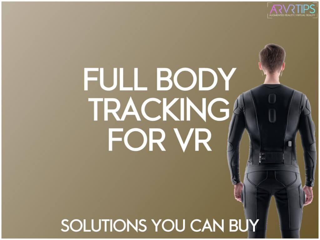 full body tracking vr solutions