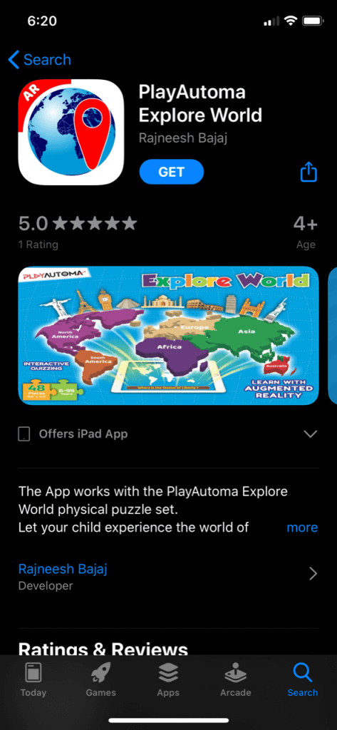playautoma explore world app store