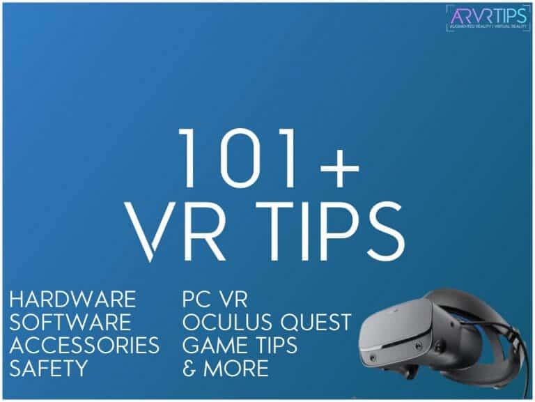 VR Tips hardware software pc oculus quest
