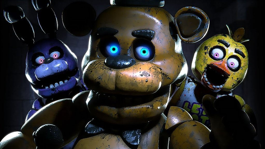 five nights at freddy's ar game
