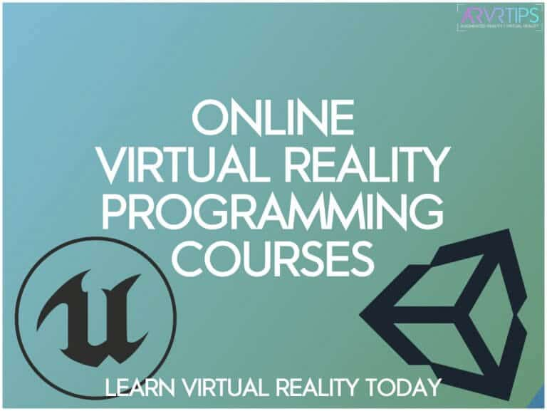 learn virtual reality programming course