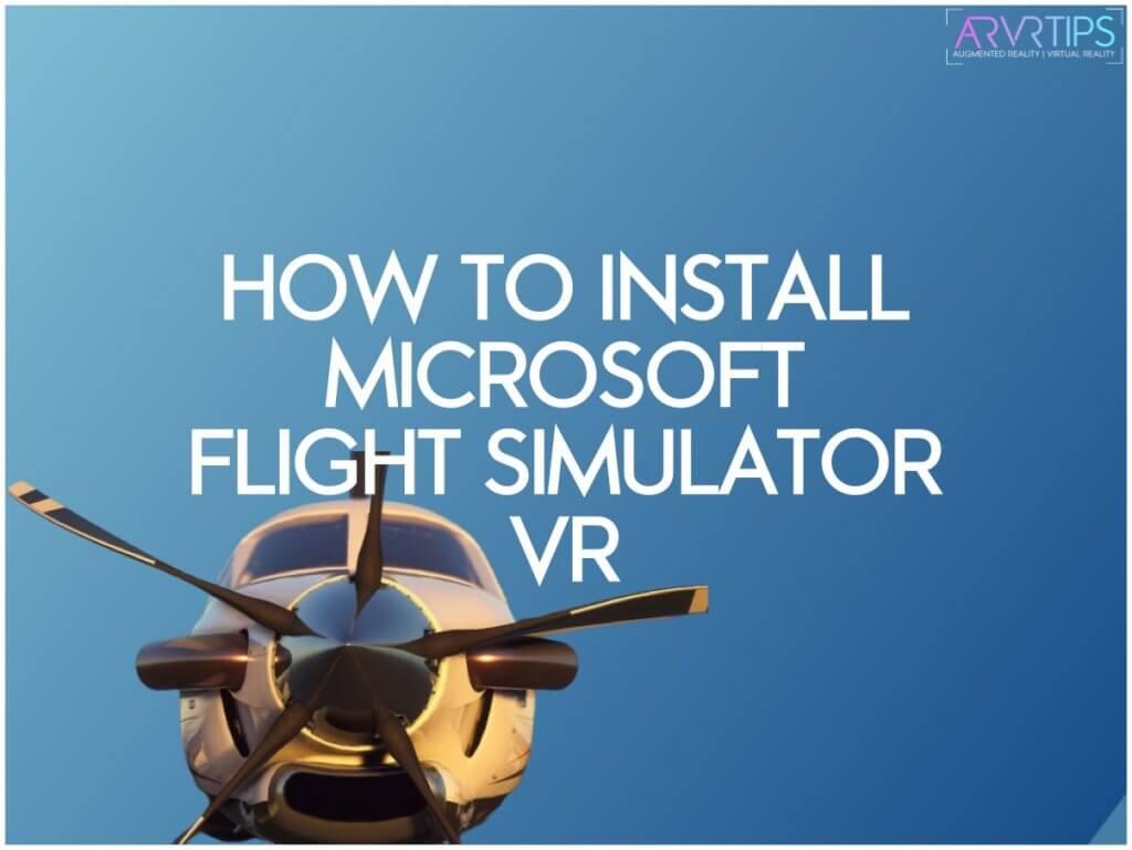 microsoft flight simulator vr + alternatives