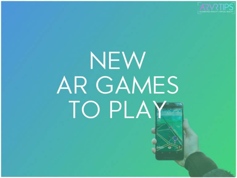 new ar games to play
