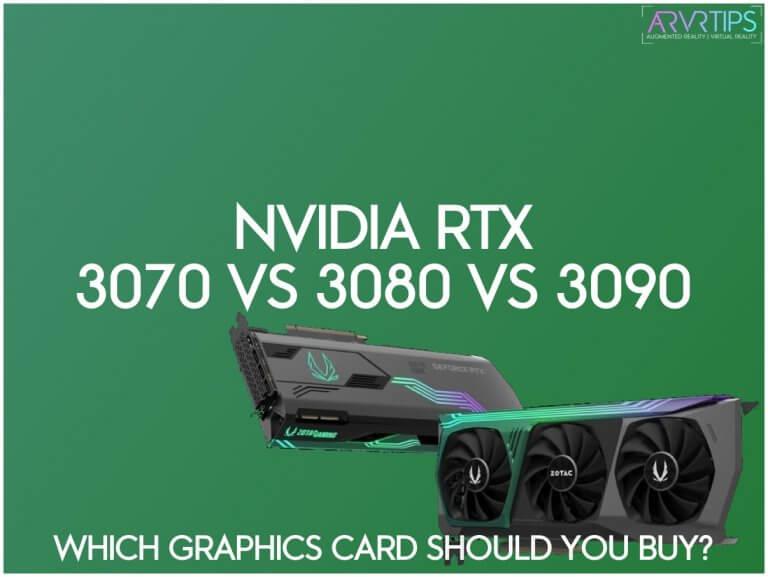 nvidia geforce rtx 3070 vs 3080 vs 3090
