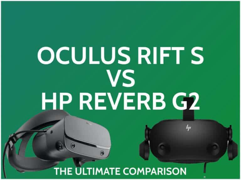 oculus rift s vs hp reverb g2