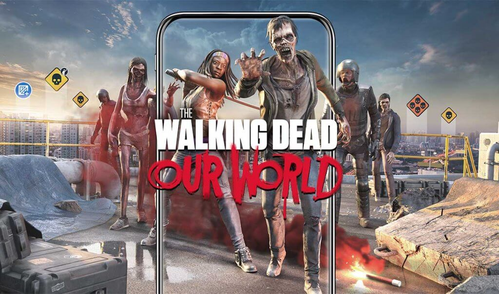 the walking dead our world new ar game