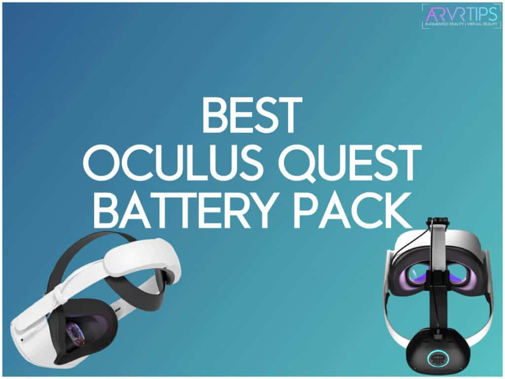 best oculus quest battery pack
