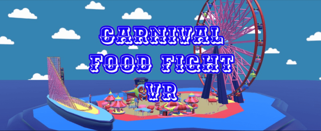 carnival food fight vr game