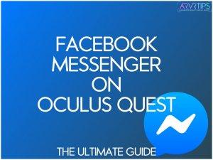 facebook messenger on oculus quest