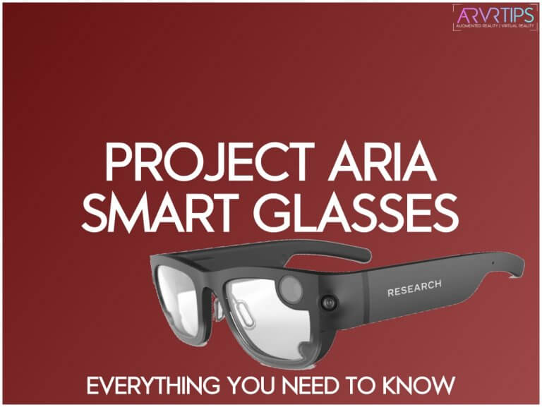 facebook project aria smart glasses