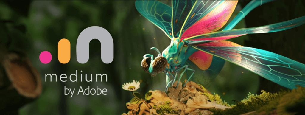 medium by adobe new vr games