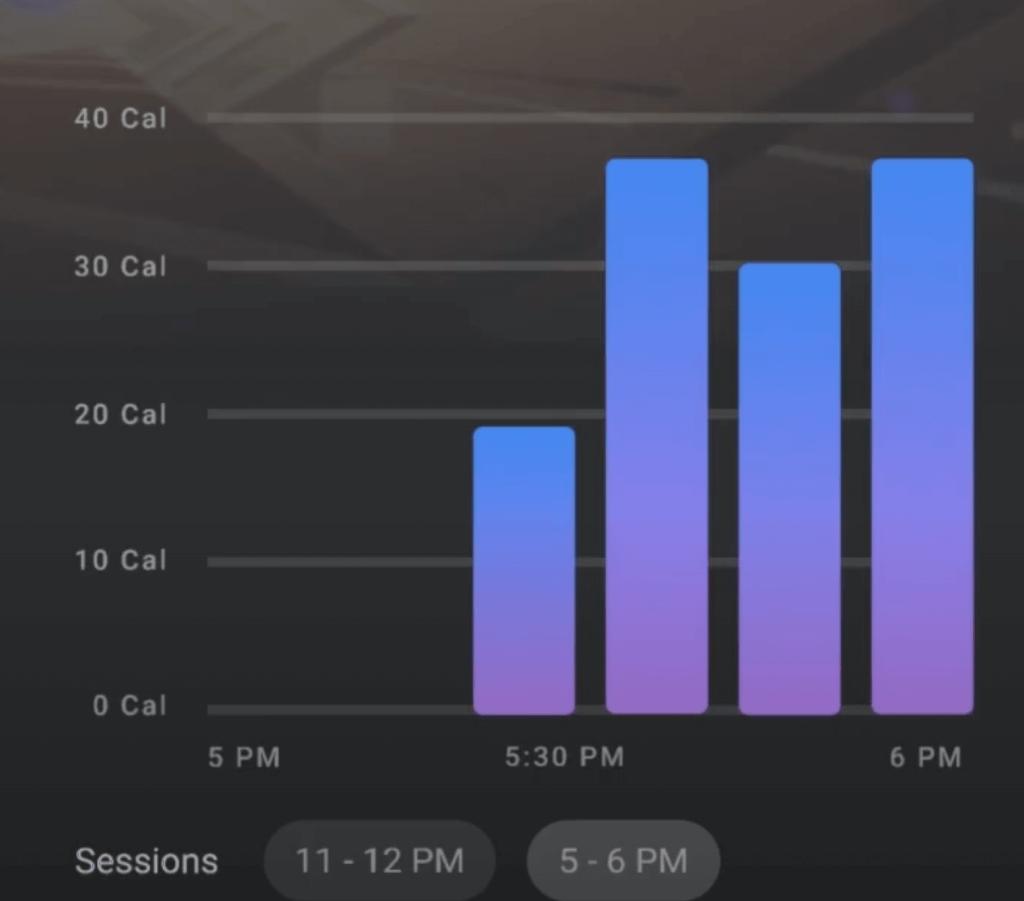 oculus move fitness trending