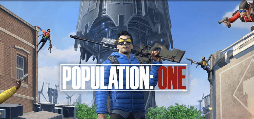population one oculus quest 2 game