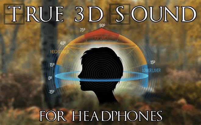 skyrim vr true 3d sound for headphones