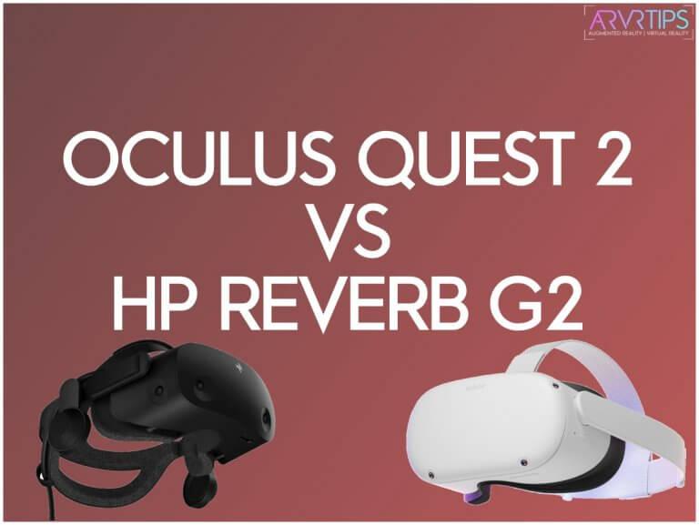 oculus quest 2 vs hp reverb g2